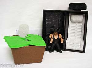 WWE Rumblers CASKET MATCH with UNDERTAKER loose