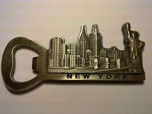 NY Statue of Liberty Fridge Magnet with BOTTLE OPENER