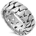 unisex stainless steel motorcycle bike chopper chain kind 10mm band