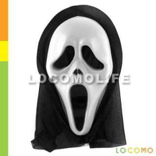 Scream Scary Movie Ghost Face Mask Prop Halloween Party
