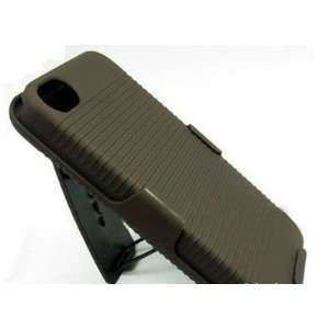 HK ABS Hard Protector Protective Brown Full Body Case