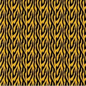 ZEBRA STRIPES PATTERN Black & Gold CRAFT VINYL Sheets 6x6