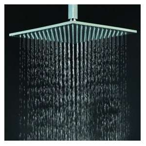 inch Brass Shower Head with Color Changing LED Light