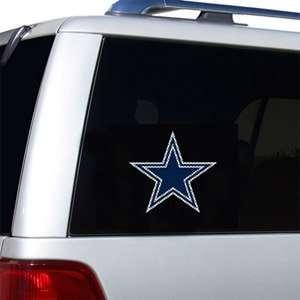 Dallas Cowboys Die Cut Window Film   Large Sports