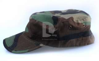 US Army Military Patrol Combat Cap Camo Fish Hat DH040