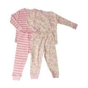 Long Johns / Pajamas   Pink   Butterfly Flowers 18M Baby
