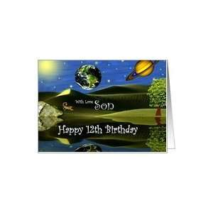 Birthday ~ Son / Age Specific 12th ~ Planet Taro Card: Toys & Games