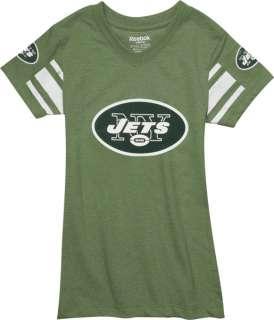 New York Jets Girls Fashion Jersey T Shirt