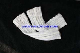 NEW MICHAEL JACKSON BILLIE JEAN RHINESTONE SOCKS