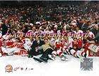2002 Stanley Cup Champions Detroit Red Wings Team On Ic