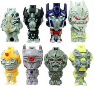 Transformers Dark Of The Moon Burger King Mini Figures Set Of 8