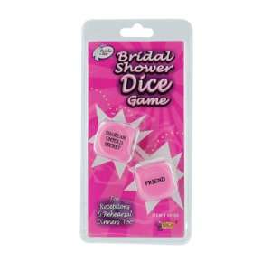 Bride to Be Bridal Shower Dice Game