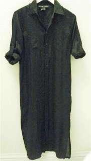 RALPH LAUREN*BLACK LABEL*SHIRT DRESS*NWT $798*FAB