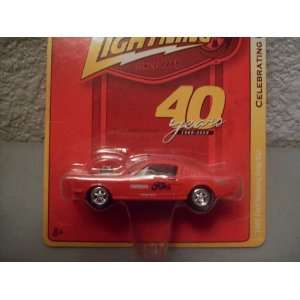 Celebrating 40 Years R6 1965 Ford Mustang Drag Car Toys & Games