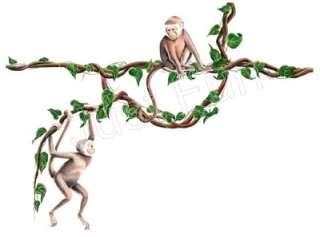 Monkeys and Jungle Vines ~ Tatouage   See FREE SHIP OFFER*