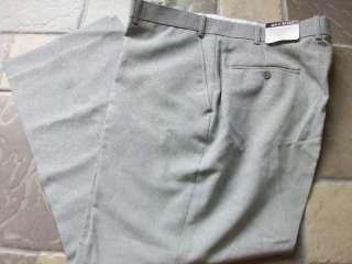 NEW BLAIR BLACK/WHITE POLYESTER DRESS PANTS MENS 42X30