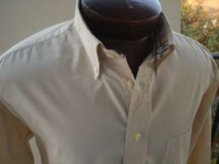 MENS BURBERRY LONDON SHIRT SIZE LARGE READY TO WEAR