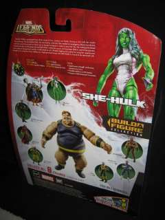 MARVEL LEGENDS BLOB SERIES SHE HULK FIGURE BUILD A FIGURE 2006