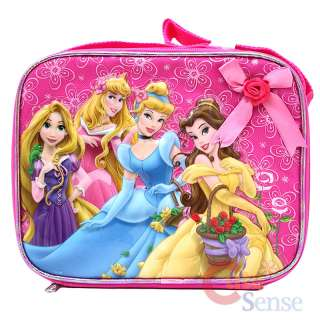Disney Princess Tangled School Roller Backpack Lunch Bag 5