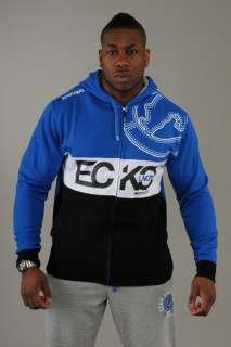 Ecko Mens Hoodies ESK 02494 Devil Diver Princess Blue/Black