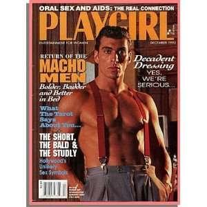 Playgirl Magazine December 1992, Tanju Sion, Jordan Gerler