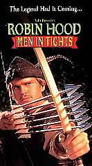 Robin Hood Men in Tights VHS, 1994