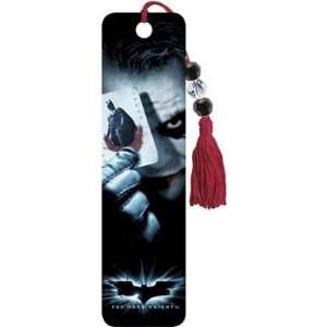 2x6) The Dark Knight Movie Joker Card Beaded Bookmark: Home & Kitchen