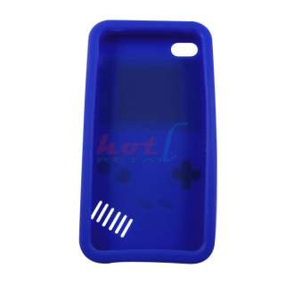 Silicone Case Cover Protector Game Boy For Apple iPhone 4 4G