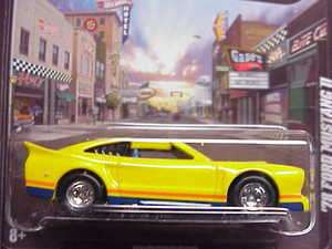 78 Ford Mustang II yellow Boulevard