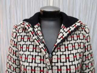GIANFRANCO FERRE LADIES WOOL COAT MADE IN ITALY SIZE 6