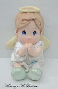 Precious Moments Angel Boy Praying Plush Doll Toy HTF