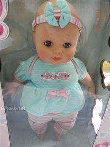 Madame Alexander Sweet Baby Nursery Baby Cuddles Doll 14 Infant Girl