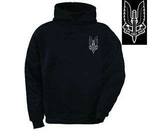 British Army Regiment SAS Special Air Service Hoodie