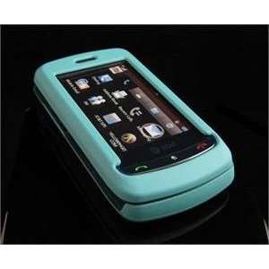 com TURQUOISE Hard Plastic Full View Rubber Feel Cover Case w/ Screen