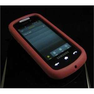 BURGUNDY FULL VIEW Soft Rubber Silicone Skin Cover Case for Samsung