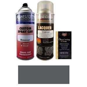 12.5 Oz. Buran Silver Metallic Spray Can Paint Kit for