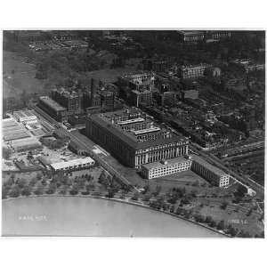Bureau of Engraving/Printing,Washington,DC,1920s,Aerial
