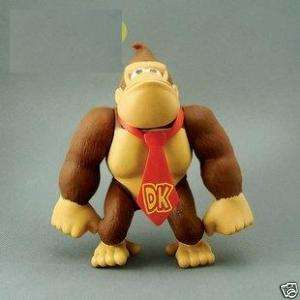 Super Mario Bros DK Poseable Action Figure Doll