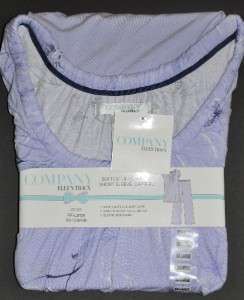 ELLEN TRACY 2 pc Shirt Top Capri Pant PJ Pajama Set
