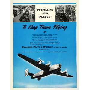 Production Line WWII Superfortress   Original Print Ad