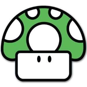 Super Mario Mushroom TOAD Nintendo car decal sticker 4
