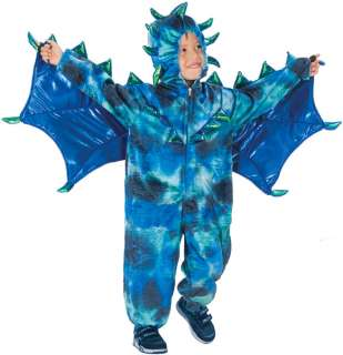 Boy Girl Childs Sully the Cute Green Dragon Halloween Costume SM