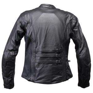 Womens Ladies Joe Rocket Sonic Leather Riding Jacket L Large