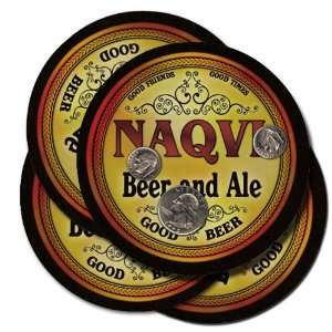 Naqvi Beer and Ale Coaster Set: Kitchen & Dining