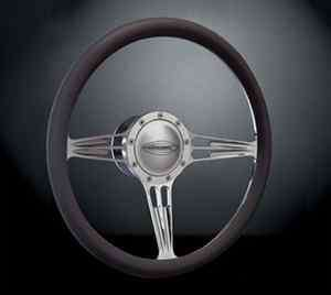 Budnik Stiletto 13.75 Steering Wheel, Horn Button, and Adapter