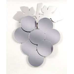 Ashton Sutton STM103 Large Grape Shaped Wall Mirror