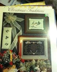 Christmas Traditions Stoney Creek Cross Stitch Book OOP