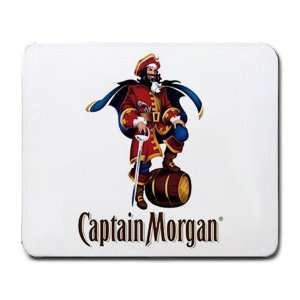 Captain Morgan Rum Liquor LOGO mouse pad