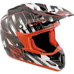MSR Racing Velocity Legacy Mens MX Motorcycle Helmet   White/Red / 2X