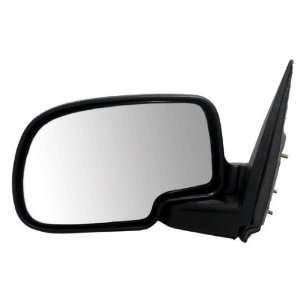 Drivers Textured Manual Side View Mirror Assembly Pickup Truck SUV
